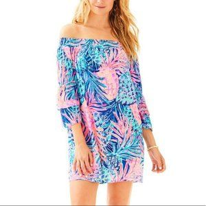 Lilly Pulitzer Tobyn Off The Shoulder Tunic Dress